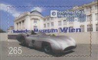 Østrig - Teknisk Museum - Postfrisk frimærke 3D
