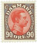Danmark  Bogtryk AFA 109 *