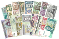 Bank notes - Unique collection