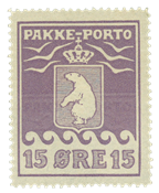Grønland pakkeporto AFA 8I ubrugt