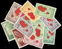 Madagaskar 12 timbres différents - Valeur Yvert jusqu'á 3,40 / 3,40 / 4,20 ¤ le timbre