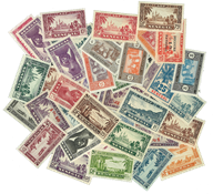 Senegal 43 different stamps