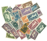 Senegal 30 different stamps