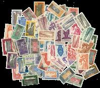 TOGO POSTES / POSTES ARIENNE 77 timbres différents - Valeur Yvert jusqu'á 11,25 / 14,25 / 21,00 ¤ le timbre