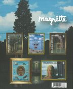 Belgique - Magritte - Bloc-feuillet neuf