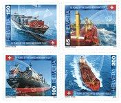 Suisse - La Flotte - Série neuve 4v