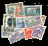 Tunesien 12 forskellige - Yvert katalogværdi op til 6,40 / 7,50 / 8,65 Euro pr. mærke