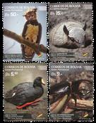 Bolivia - Dyreliv - Postfrisk sæt 4v