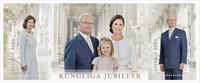 Suède - Anniversaires de la famille royale - Bloc-feuillet neuf