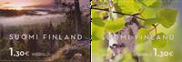 Finland - Finlands unikke natur - Postfrisk sæt 2v