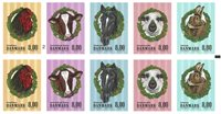 Danemark - Animaux de la ferme - Carnet neuf