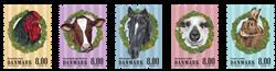 Danemark - Les animaux de la ferme - Série neuve 5v