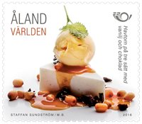 Åland - Norden 2016 - Cuisine nordique - Timbre neuf