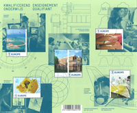 Belgium - Innovations from Belgium - Mint souvenir sheet