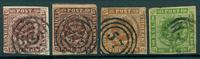 Danemark - 1852-58