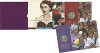 Grande-Bretagne - Reine Elizabeth anniversaire du Couronnement - Présentation numismatique