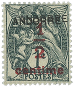 Andorra - YT 1a - Postfrisk