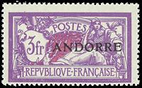 Andorre - Y&T 20 - Neuf sans ch.