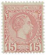 Monaco - YT 5 - Neuf avec ch.