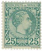 Monaco - YT 6 - Ubrugt
