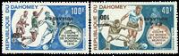 Dahomey - YT 221b+222b - Postfrisk