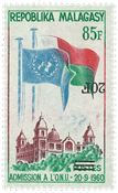 Madagascar - YT 447b - Neuf sans ch.