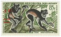 Madagaskar - YT luftpost 106a - Postfrisk