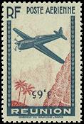 Reunion - YT luftpost 2b - Postfrisk