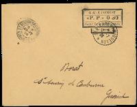 St. Pierre & Miquelon - Cachet provisoire de 1926