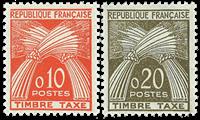 France YT TA91-92