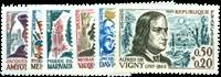 Frankrig - YT 1370-1375 - Postfrisk
