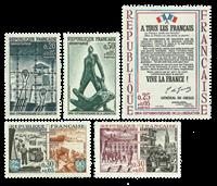 France - YT 1407-11 neuf