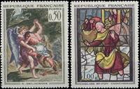 Frankrig - Kunstværker YT1376/1377 - Postfrisk