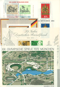 West Germany - 47 mint souvenir sheets