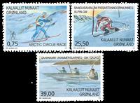 Groenland - Sport au Groenland - Série neuve 3v