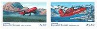 Grønland - Flyserie - Postfrisk sæt 2v