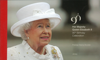 Jersey - 90TH BIRTHDAY, HM QUEEN E PBK - Carnet de prestige neuf