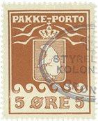 Grønland pakkeporto AFA 6I #