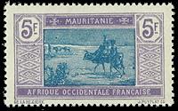 Mauretanien - YT 33 postfrisk