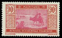 Mauretanien - YT 58 postfrisk