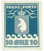 Grønland - Pakkeporto - AFA nr. 3 postfrisk
