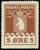 Grønland - Pakkeporto - AFA nr. 6 postfrisk