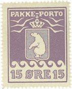 Grønland pakkeporto AFA 8I mint