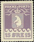 Grønland pakkeporto AFA 8I postfrisk