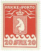 Grønland - Pakkeporto - AFA nr. 9 postfrisk