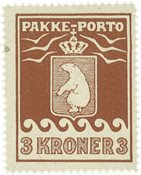 Grønland - Pakkeporto - AFA 12 postfrisk
