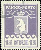 Grønland pakkeporto AFA 8 #