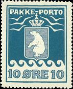 Grønland pakkeporto AFA 3 ubrugt