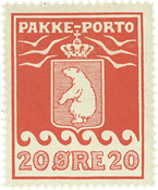 Grønland pakkeporto AFA 9I ubrugt