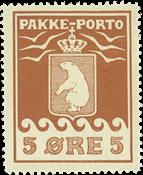 Grønland pakkeporto AFA 6I ubrugt